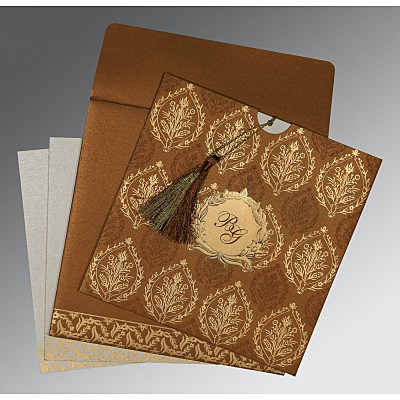 Designer Wedding Cards - D-8249F