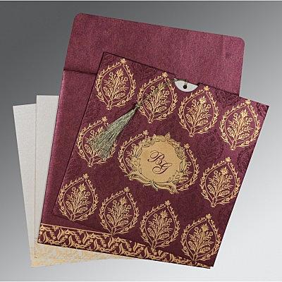 Designer Wedding Cards - D-8249I