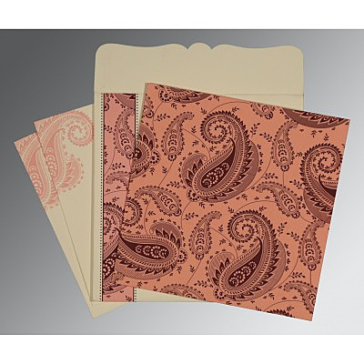 Designer Wedding Cards - D-8250F