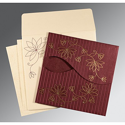 Designer Wedding Cards - D-8251C