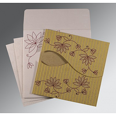 Designer Wedding Cards - D-8251E