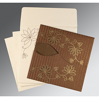Designer Wedding Cards - D-8251F