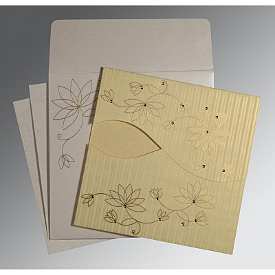 Designer Wedding Cards - D-8251H