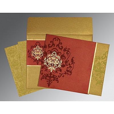 Designer Wedding Cards - D-8253B