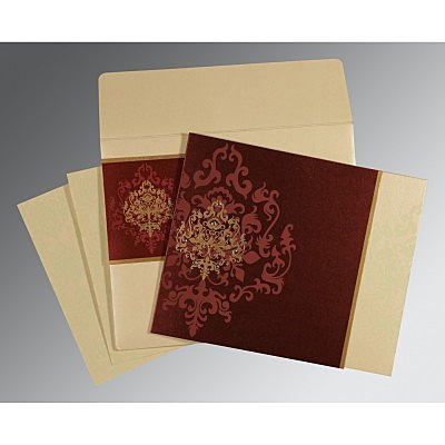 Designer Wedding Cards - D-8253F