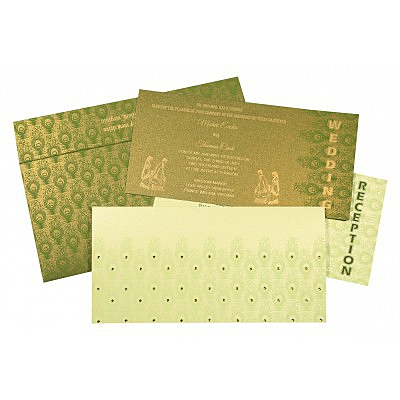 Designer Wedding Cards - D-8256F