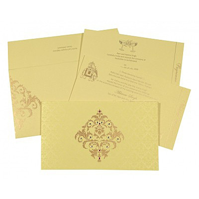Designer Wedding Cards - D-8257B