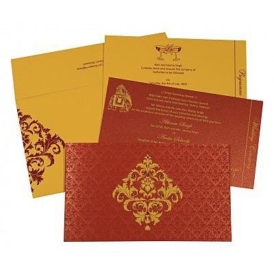 Designer Wedding Cards - D-8257D