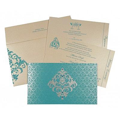 Designer Wedding Cards - D-8257E