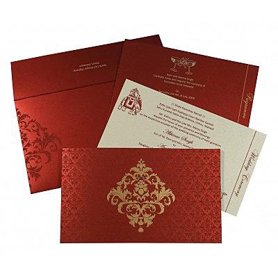 Designer Wedding Cards - D-8257H