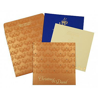 Designer Wedding Cards - D-8258F