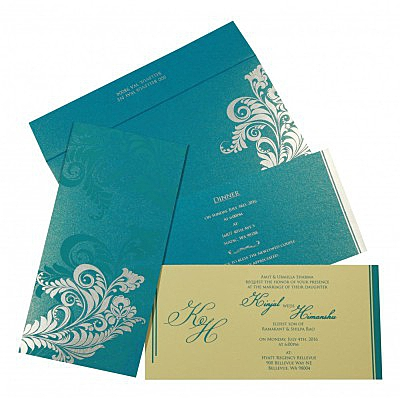 Designer Wedding Cards - D-8259B