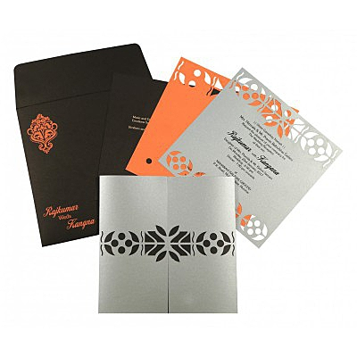 Designer Wedding Cards - D-8260E
