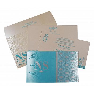 Designer Wedding Cards - D-8261E