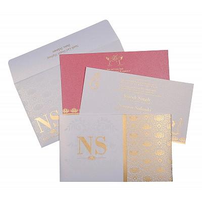 Designer Wedding Cards - D-8261F