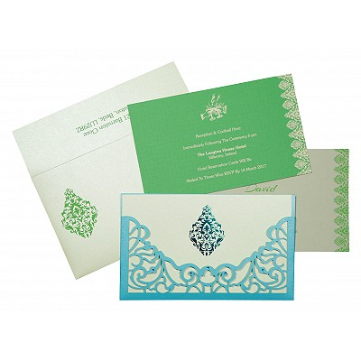 Designer Wedding Cards - D-8262A