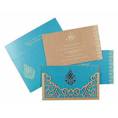 Designer Wedding Cards - D-8262C