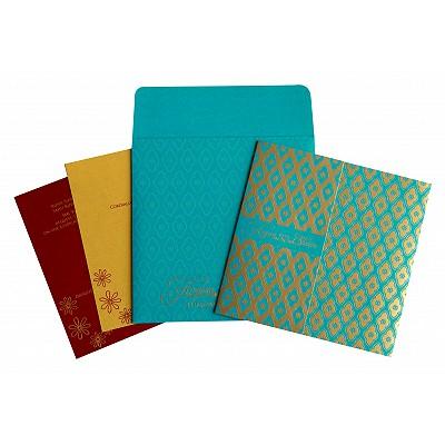 Designer Wedding Cards - D-8263B