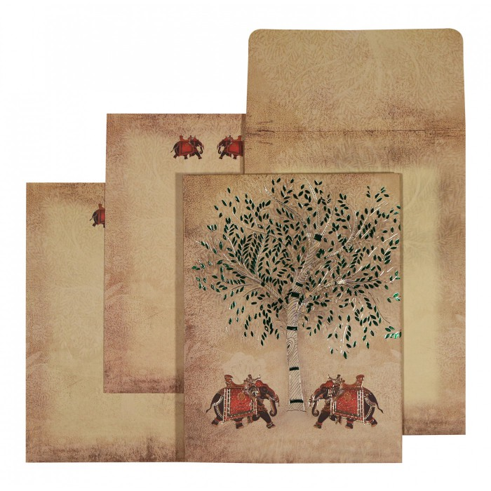 Islamic Wedding Invitations - I-1570