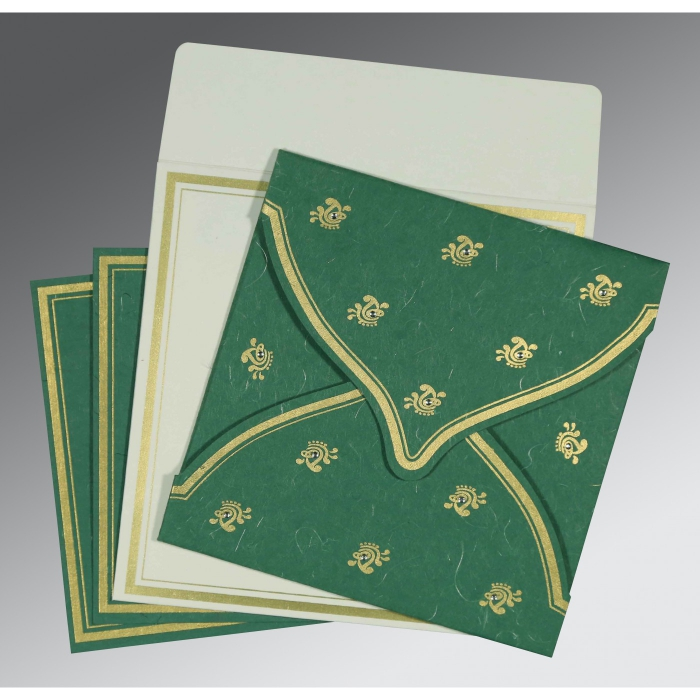 Islamic Wedding Invitations - I-8203D