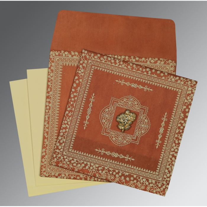 Islamic Wedding Invitations - I-8205C