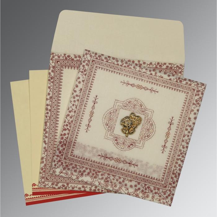 Islamic Wedding Invitations - I-8205E