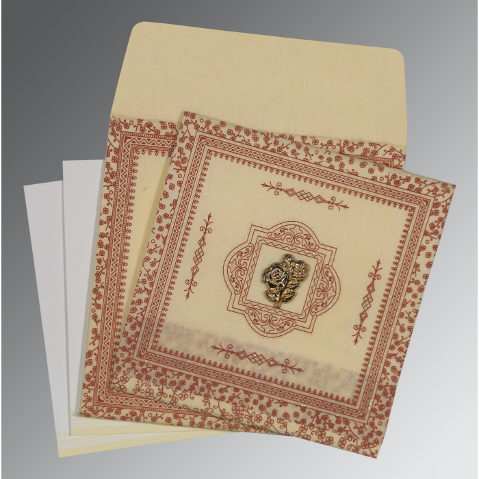 Islamic Wedding Invitations - I-8205O