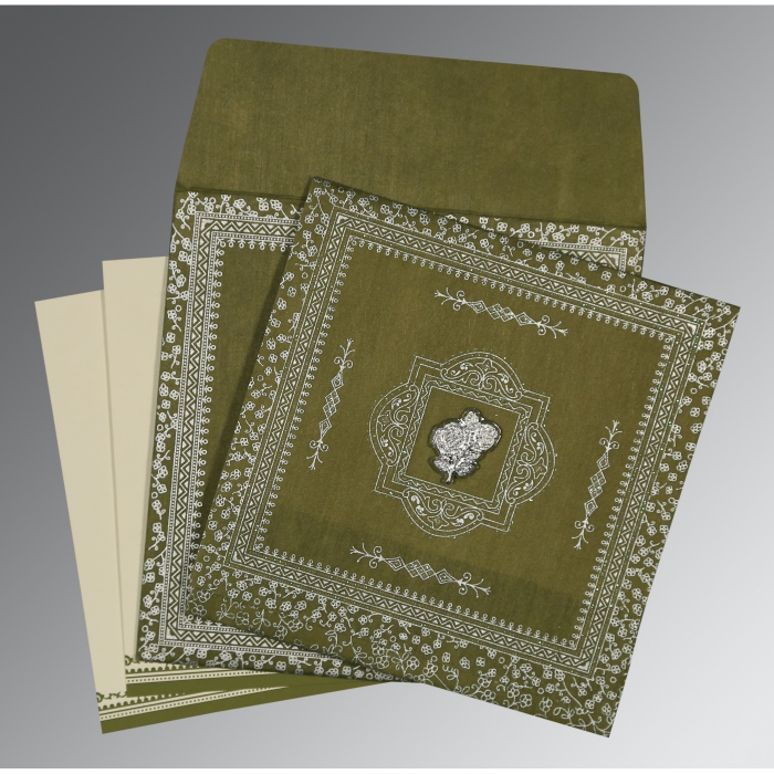 Islamic Wedding Invitations - I-8205Q