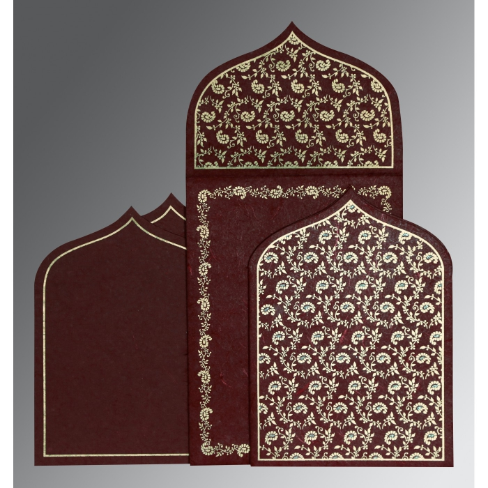 Islamic Wedding Invitations - I-8208A