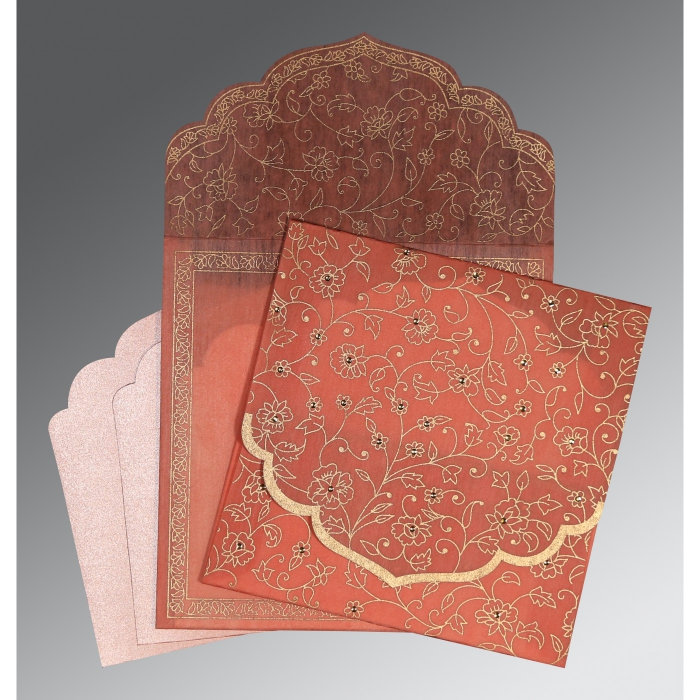 Islamic Wedding Invitations - I-8211J