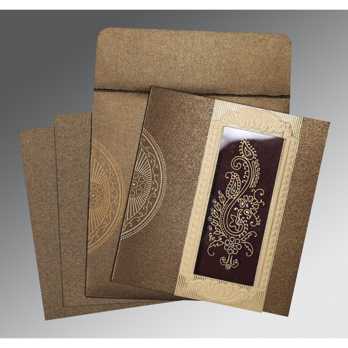 Islamic Wedding Invitations - I-8230M