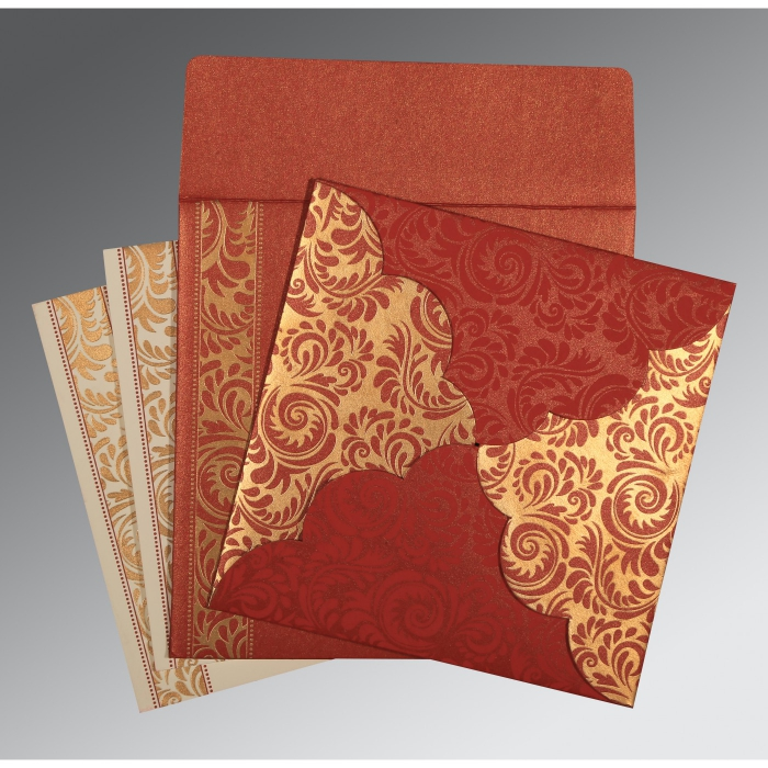 Islamic Wedding Invitations - I-8235C