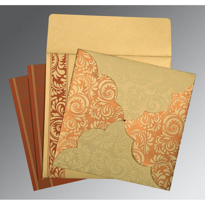 Islamic Wedding Invitations - I-8235H