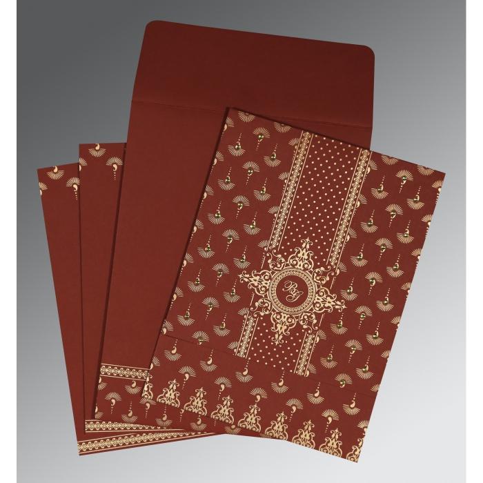 Islamic Wedding Invitations - I-8247D