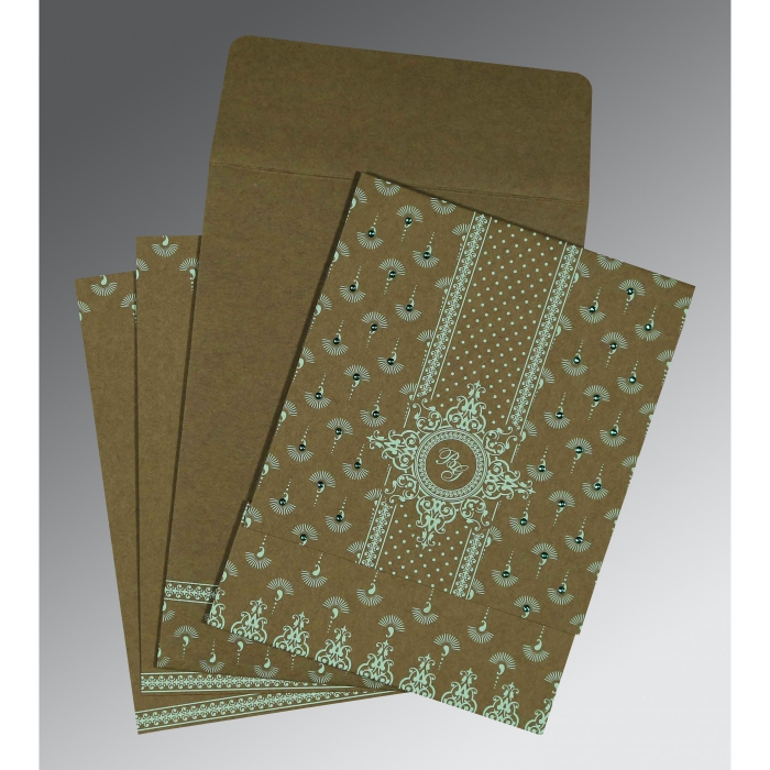 Islamic Wedding Invitations - I-8247E