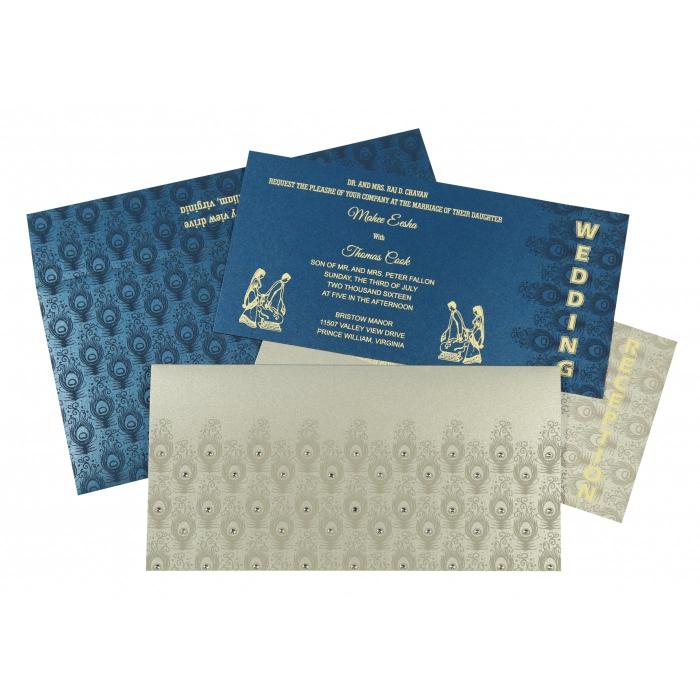 Islamic Wedding Invitations - I-8256H