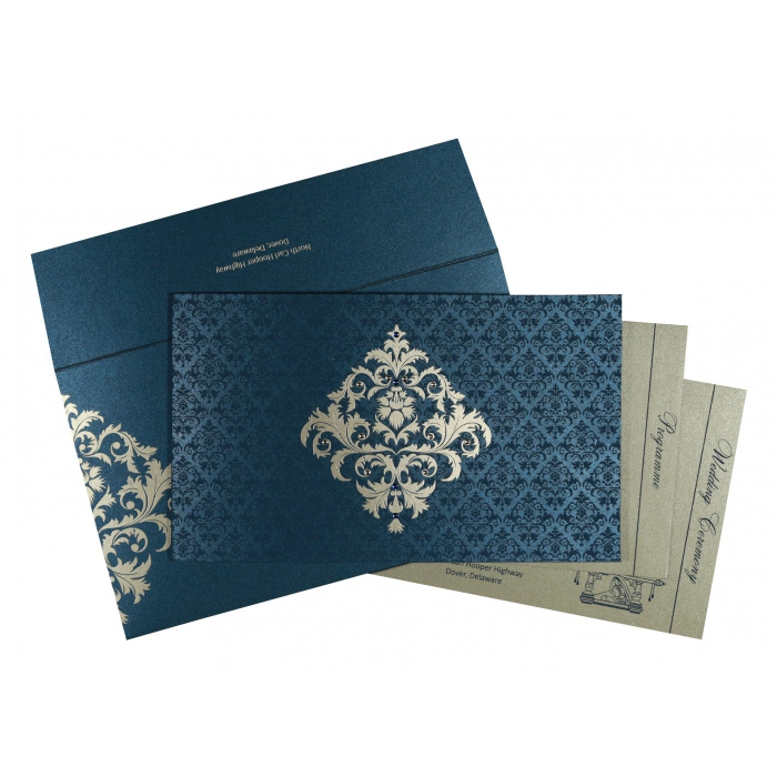 Islamic Wedding Invitations - I-8257G