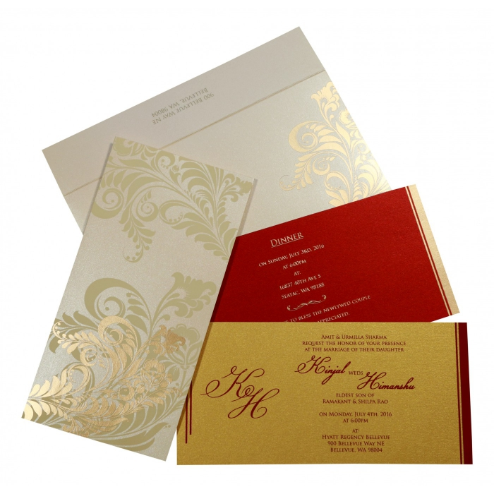 Islamic Wedding Invitations - I-8259A