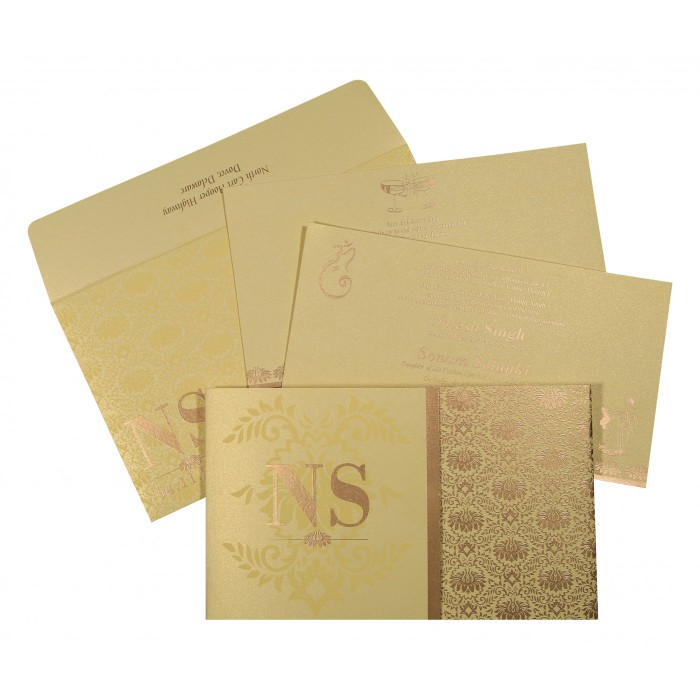 Islamic Wedding Invitations - I-8261C