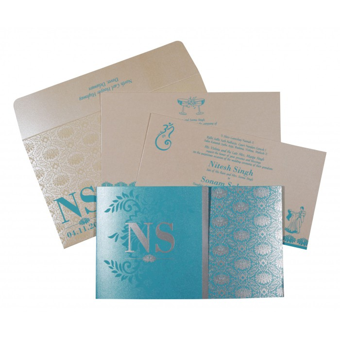 Islamic Wedding Invitations - I-8261E