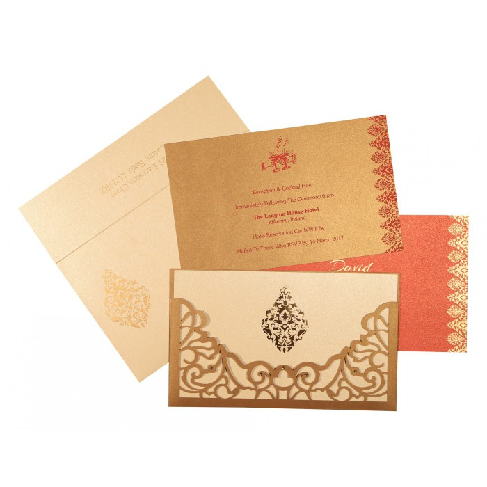 Islamic Wedding Invitations - I-8262D