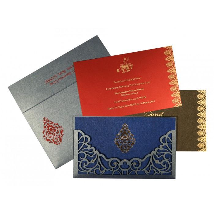 Islamic Wedding Invitations - I-8262E