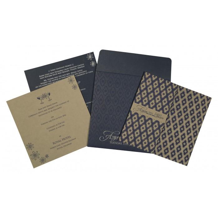 Islamic Wedding Invitations - I-8263F