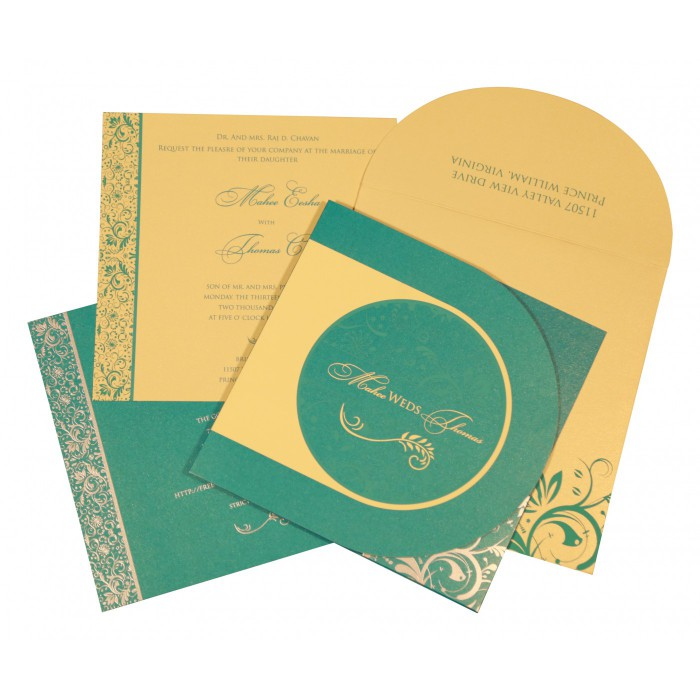Islamic Wedding Invitations - I-8264C