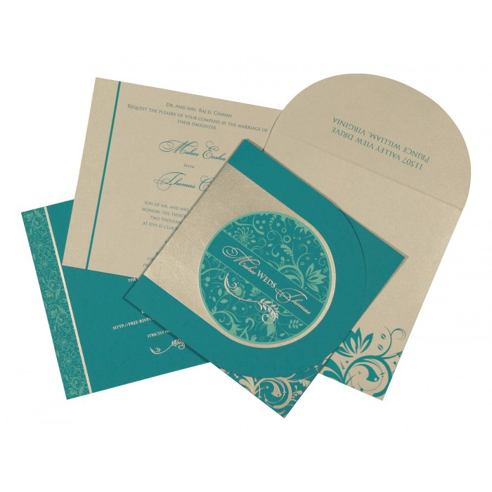 Islamic Wedding Invitations - I-8264G