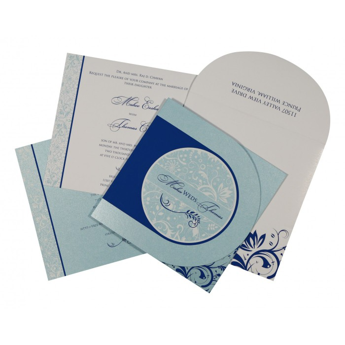 Islamic Wedding Invitations - I-8264H