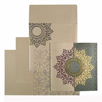 Islamic Wedding Invitations - I-1542