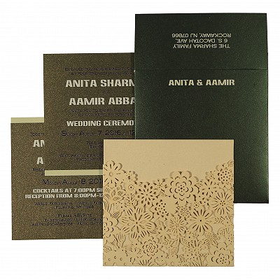 Islamic Wedding Invitations - I-1595