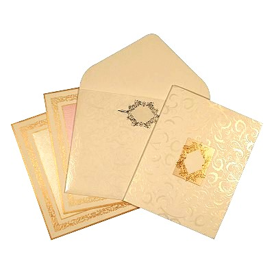 Islamic Wedding Invitations - I-1622
