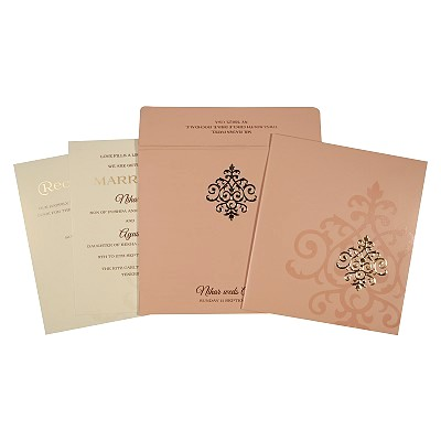 Islamic Wedding Invitations - I-1694